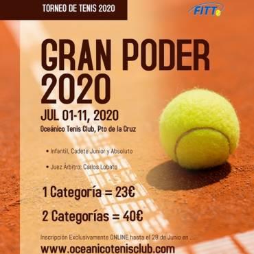 Inscritos en el Torneo del Gran Poder 2020