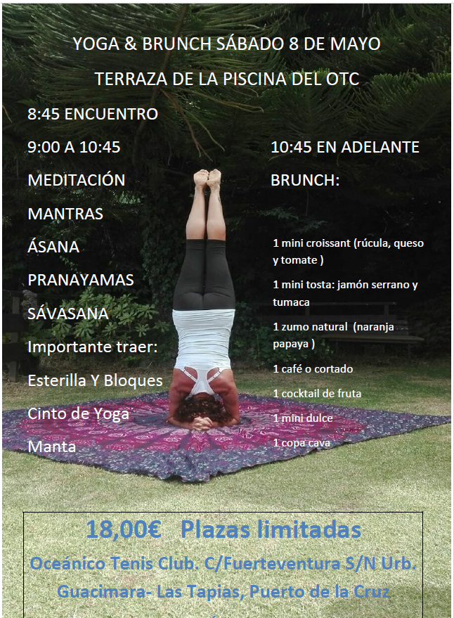 ¡YOGA & BRUNCH CON CORO!